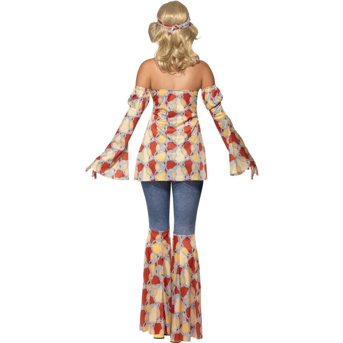 70er jahre damenkost m hippie kost m damen hippiekost m. Black Bedroom Furniture Sets. Home Design Ideas