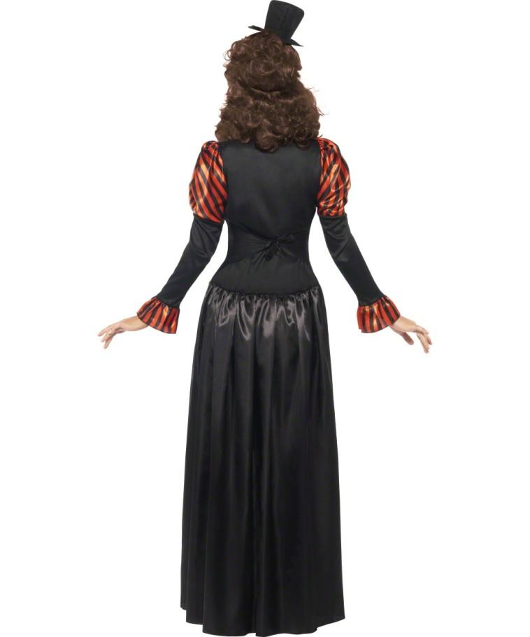 viktorianisches steampunk kleid vampirin gothic can can. Black Bedroom Furniture Sets. Home Design Ideas