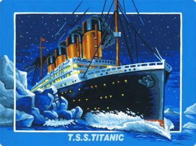 Titanic Malen nach Zahlen Schipper 40 x 50 cm NEU