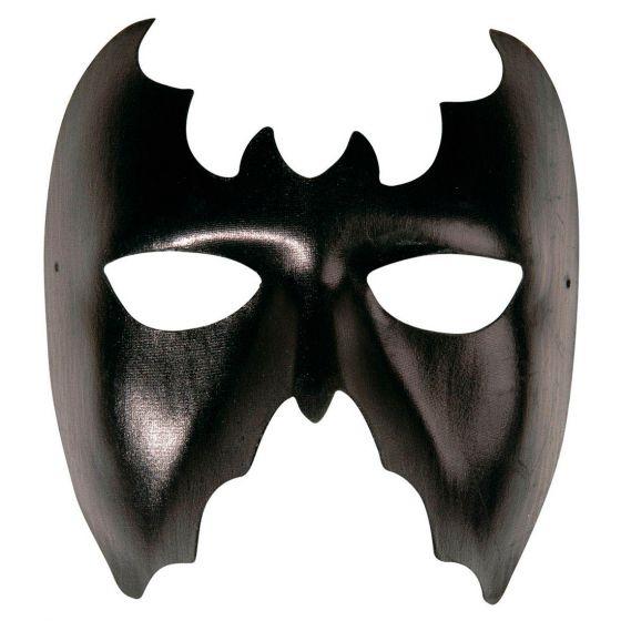 schwarze fledermausmaske batman maske fledermaus faschingsmasken karneval 8003558644704 ebay. Black Bedroom Furniture Sets. Home Design Ideas