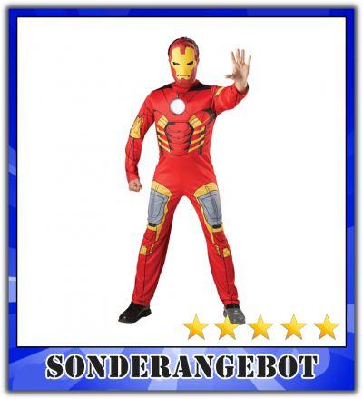 ironman kost m superheld iron man faschingskost m comic. Black Bedroom Furniture Sets. Home Design Ideas