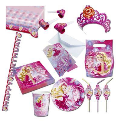 Barbie deko set kindergeburtstag partydeko prinzessin for Kindergeburtstag deko set