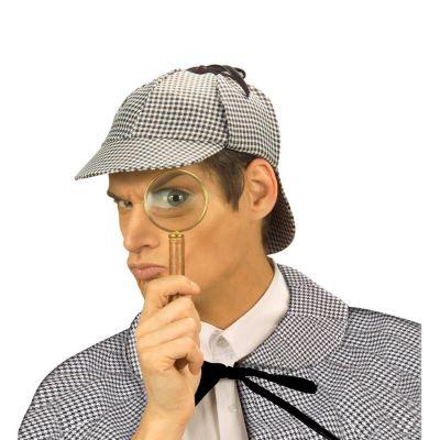 sherlock holmes cappello detective travestimento agenten. Black Bedroom Furniture Sets. Home Design Ideas