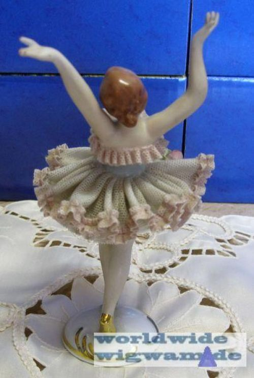 porzellanfigur ballerina t nzerin gerold 16 cm ebay. Black Bedroom Furniture Sets. Home Design Ideas