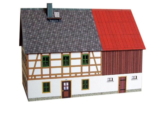 beckert 04 04 02 tt b fachwerkhaus erzgebirge mit stall blechdach ebay. Black Bedroom Furniture Sets. Home Design Ideas