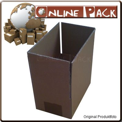 200 Stück 170x100x80 mm Verpackung OP 101 Kartons Braun