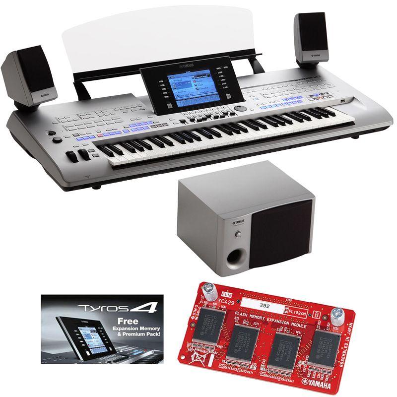 yamaha keyboard tyros 4 xl inkl boxensystem premium ForYamaha Expansion Pack