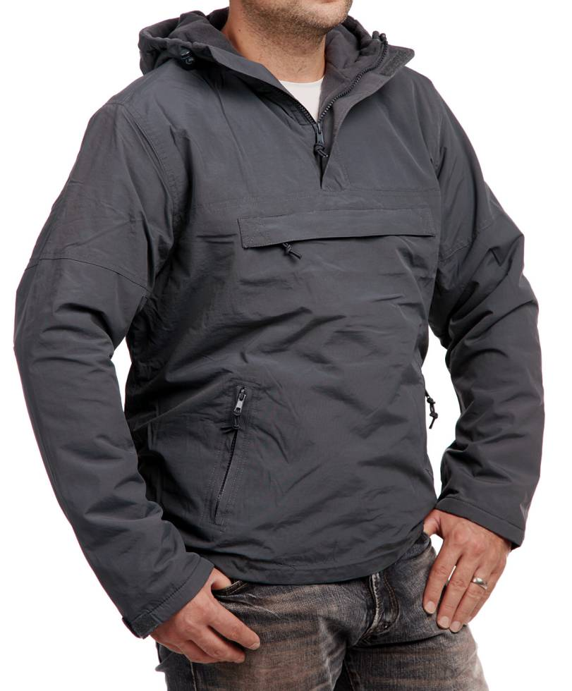 brandit windbreaker herren jacke mit fleecefutter hoody. Black Bedroom Furniture Sets. Home Design Ideas