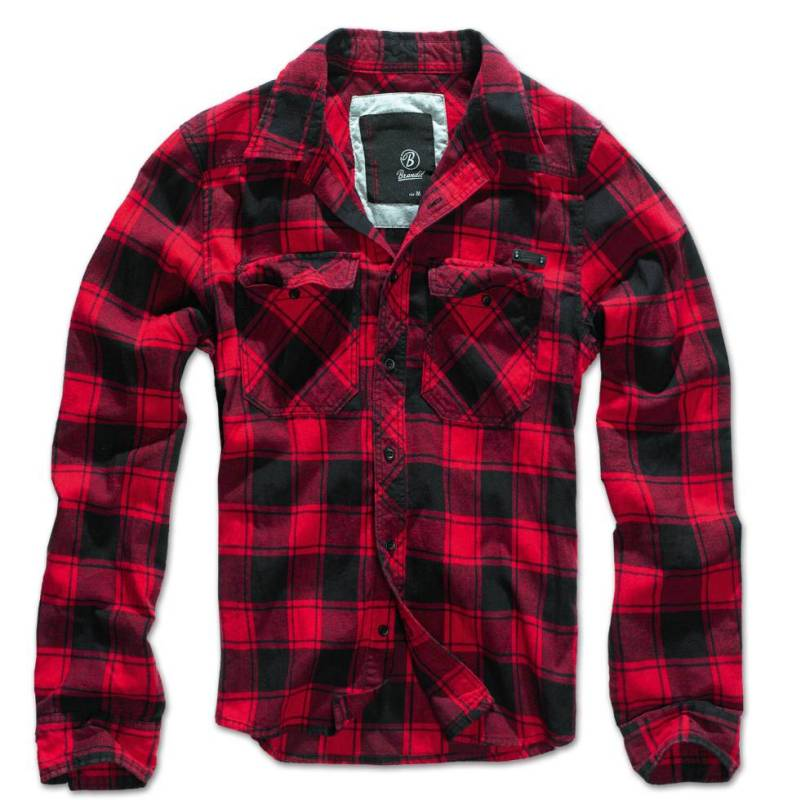 brandit check shirt kariertes freizeit hemd f r herren. Black Bedroom Furniture Sets. Home Design Ideas