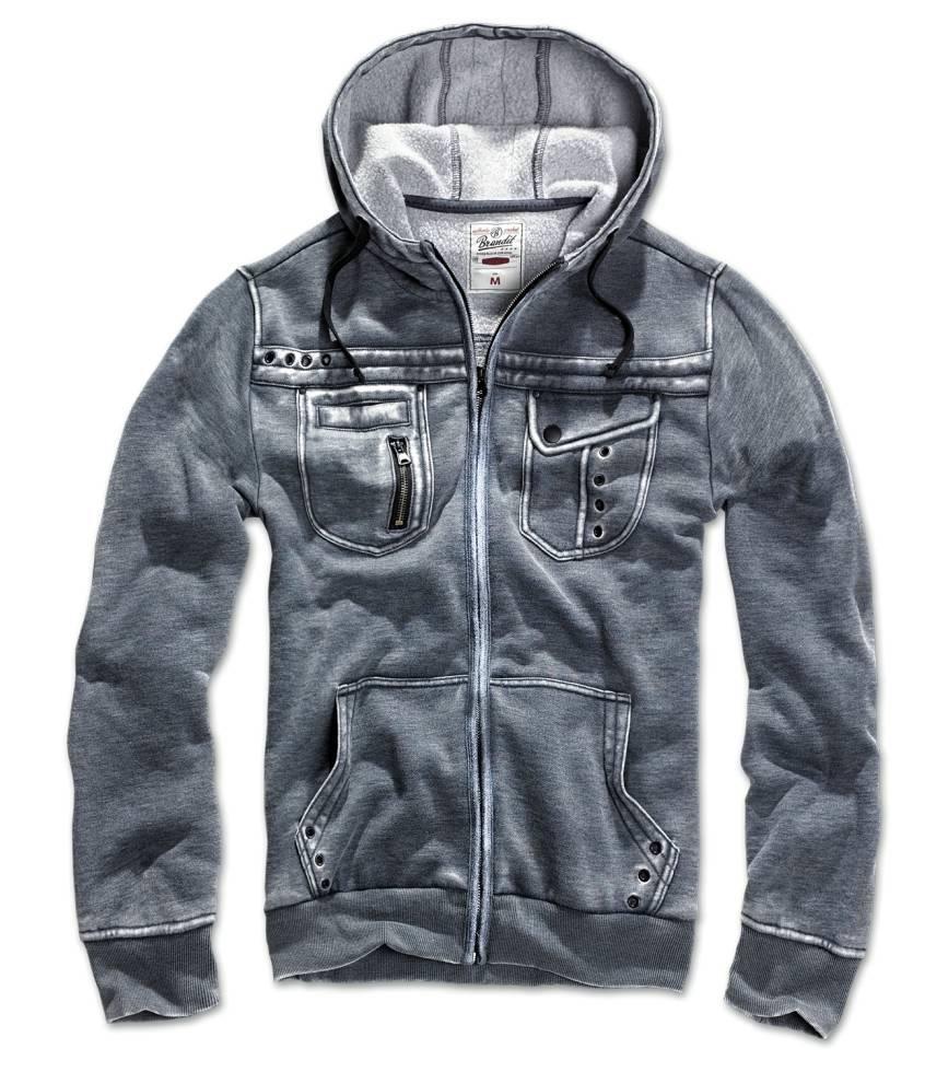 brandit rudy herren sweat jacke hooded sweatshirt vintage hoodie kapuzenshirt ebay. Black Bedroom Furniture Sets. Home Design Ideas