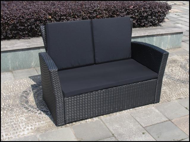 gartenm bel set polyrattan stapelst hle grau. Black Bedroom Furniture Sets. Home Design Ideas