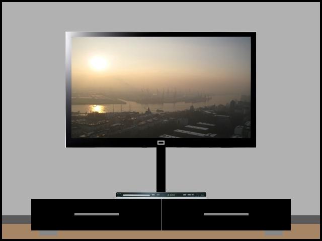 lcd plasma tv tft alu kabelkanal eckig 50 cm schwarz ebay. Black Bedroom Furniture Sets. Home Design Ideas