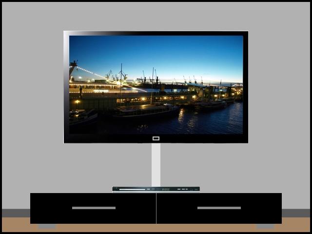 lcd plasma led tv alu kabelkanal eckig 75 cm silber ebay. Black Bedroom Furniture Sets. Home Design Ideas