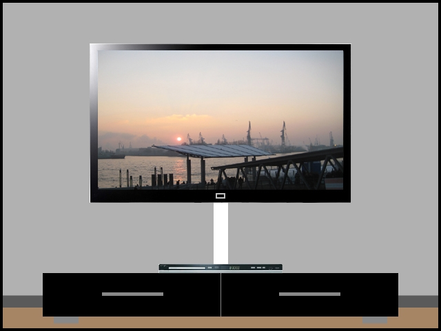 lcd plasma tv tft alu kabelkanal rund 50 cm wei ebay. Black Bedroom Furniture Sets. Home Design Ideas