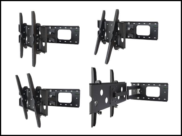 lcd led tv wandhalterung halter schwenkbar samsung 32 ebay. Black Bedroom Furniture Sets. Home Design Ideas
