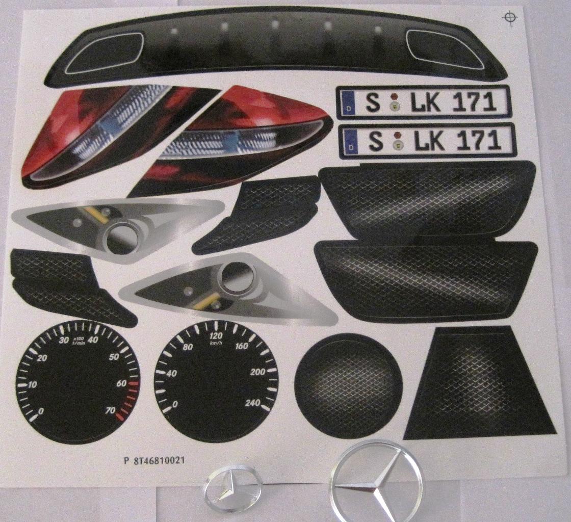 Bobby Car Mercedes Slk Aufkleber