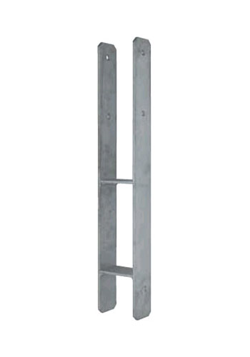 71 bis 141 mm pfostentr ger h anker feuerverzinkt pfostenanker carport ebay. Black Bedroom Furniture Sets. Home Design Ideas