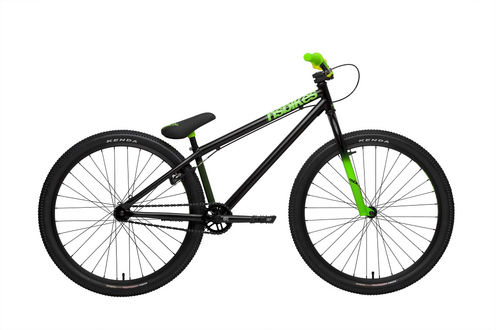 nsbikes holy 2 26 zoll komplettrad dirt bike mtb. Black Bedroom Furniture Sets. Home Design Ideas