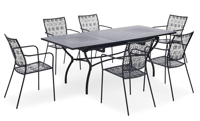266107 landmann belardo gartenm bel gartenstuhl stapelsessel algiri im 4er set ebay. Black Bedroom Furniture Sets. Home Design Ideas