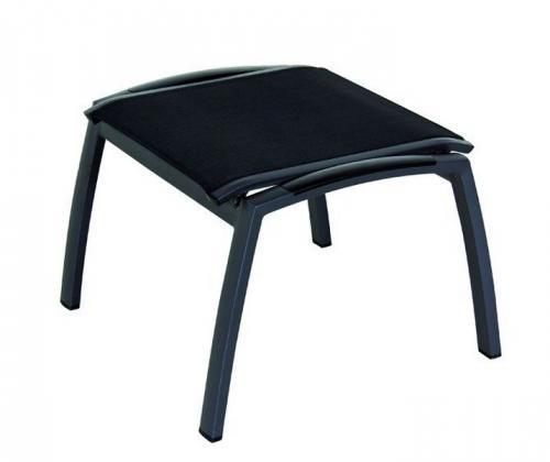g721784 siena garden gartenm bel hocker fu hocker lindos anthrazit schwarz grau ebay. Black Bedroom Furniture Sets. Home Design Ideas