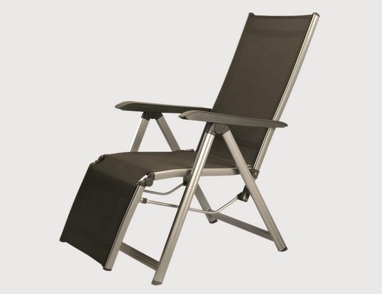 Polster Fur Gartenmobel Nach Mass : G317636 Kettler Gartenmöbel Relaxliege Relaxsessel Basic Plus, silber