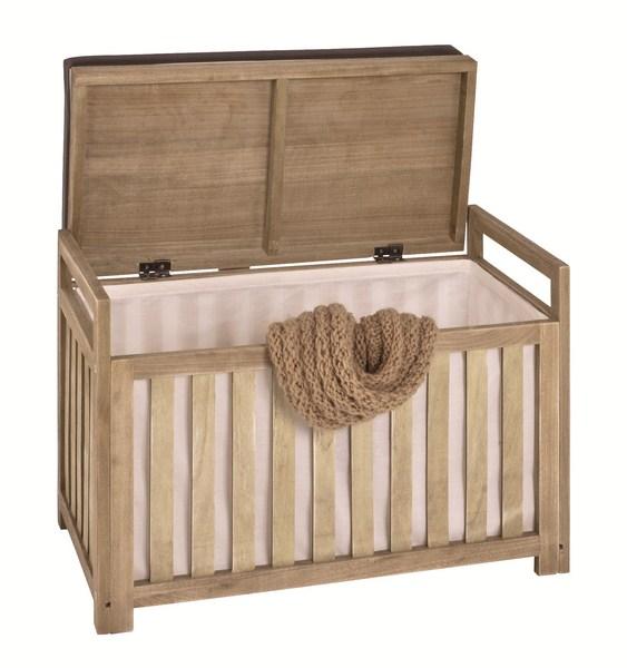 h26120 holzbank holztruhe holzkiste bank truhe kiste tanjas eiche hell lackiert. Black Bedroom Furniture Sets. Home Design Ideas