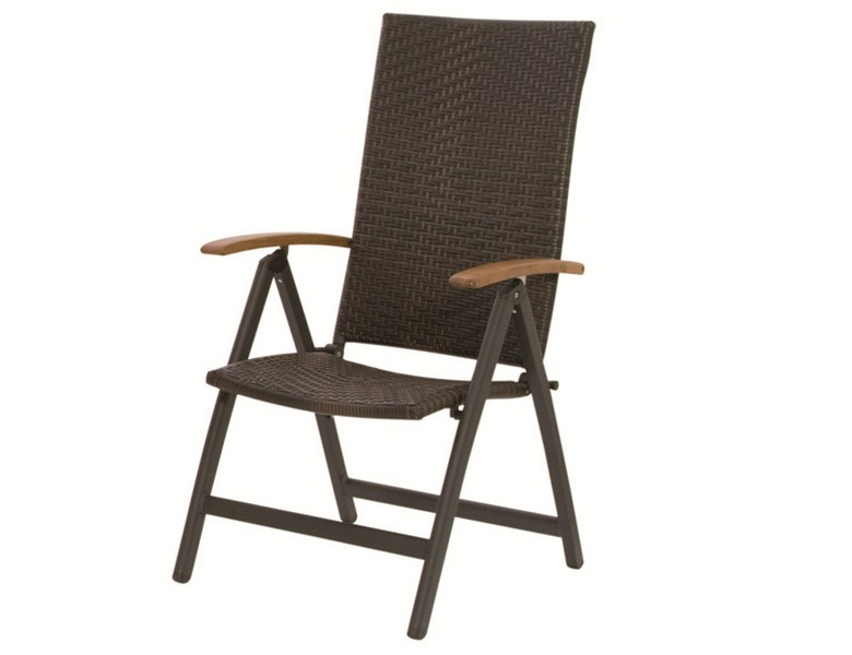 g336714 siena garden st hle hochlehner klappsessel calmar ii grau bi color braun ebay. Black Bedroom Furniture Sets. Home Design Ideas