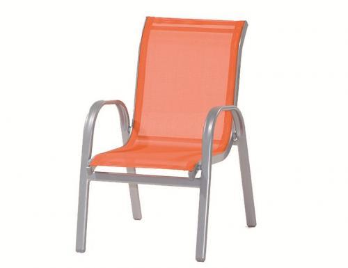 g616603 siena garden kindergartenm bel sessel kinder stapelsessel lars orange ebay. Black Bedroom Furniture Sets. Home Design Ideas