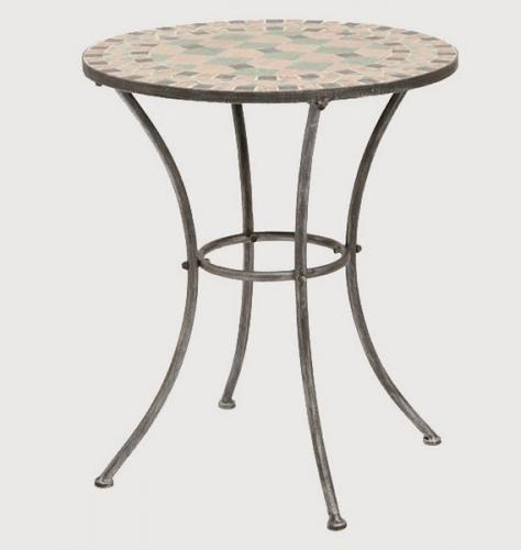 g247004 siena garden gartentisch beistelltisch tisch fiore in mosaik optik 60 ebay. Black Bedroom Furniture Sets. Home Design Ideas