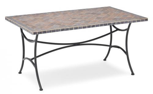 266518 landmann belardo gartenm bel gartentisch mosaik. Black Bedroom Furniture Sets. Home Design Ideas