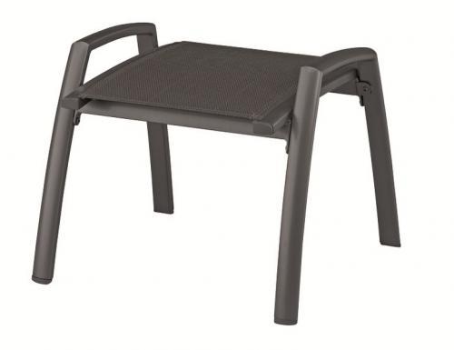 g921498 kettler gartenm bel beinauflage hocker fu hocker legato anthrazit ebay. Black Bedroom Furniture Sets. Home Design Ideas