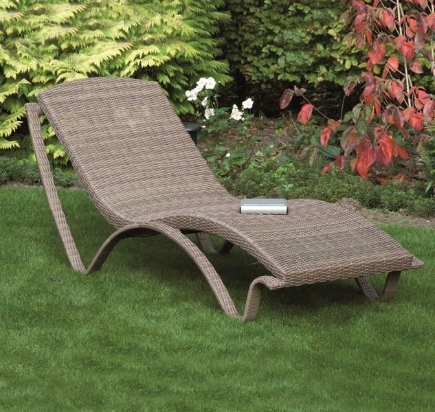 g800306 siena garden gartenliege sonnenliege liege stapelliege aurora sand ebay. Black Bedroom Furniture Sets. Home Design Ideas
