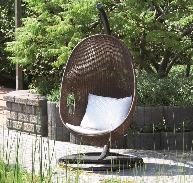 g672978 siena garden gartenm bel h ngesessel korb h ngekorb riverside braun ebay. Black Bedroom Furniture Sets. Home Design Ideas