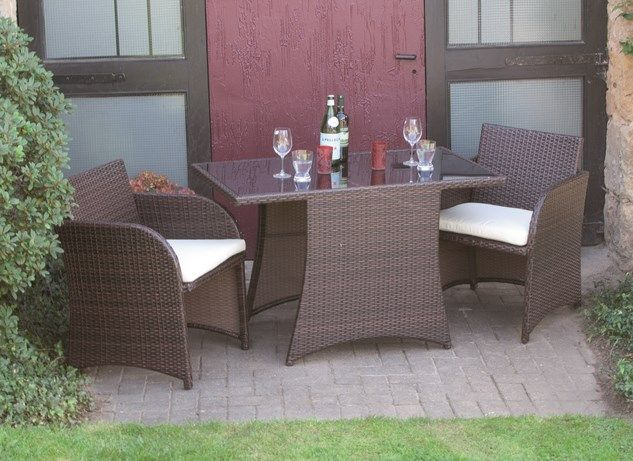 g672944 siena garden gartenm bel balkonset 3 teilig rivera bi color mocca ebay. Black Bedroom Furniture Sets. Home Design Ideas