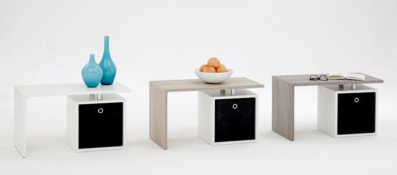 FMD Wohnzimmertisch Ablage Tisch Beistelltisch Couchtisch