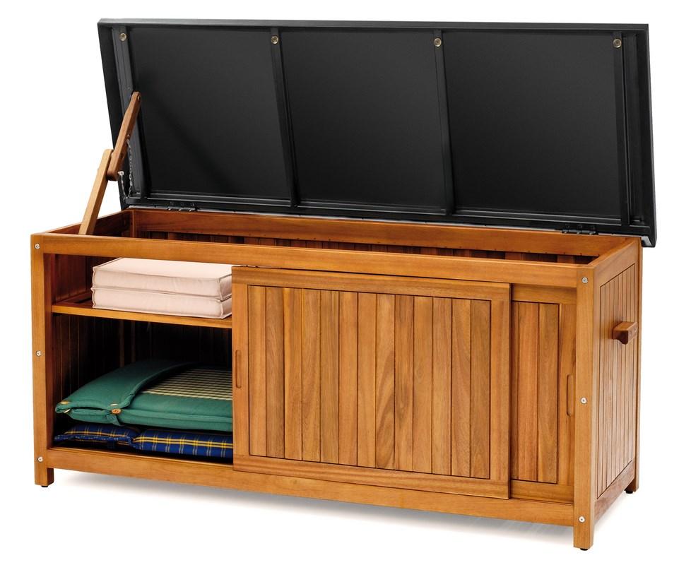 landmann belardo gartenm bel box auflagenbox kissenbox aufbewahrungsbox gr e xl ebay. Black Bedroom Furniture Sets. Home Design Ideas