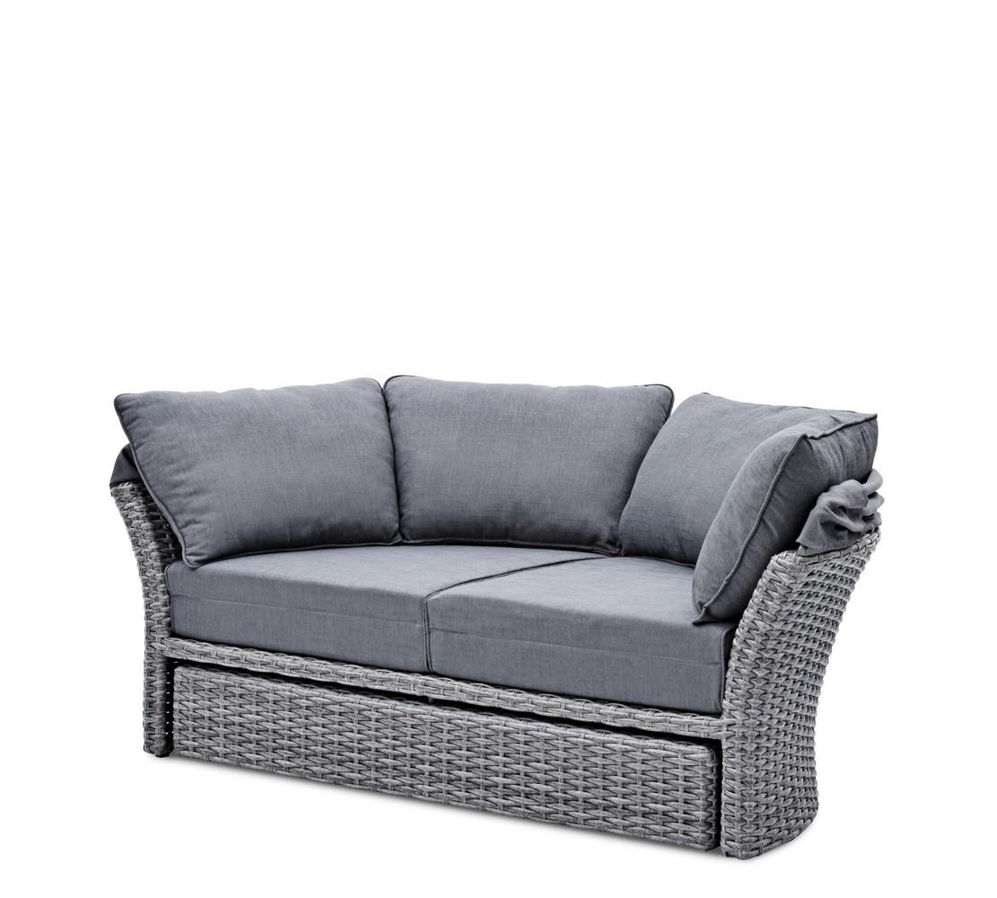 landmann belardo gartenliege liegeinsel sonneninsel minois ebay. Black Bedroom Furniture Sets. Home Design Ideas