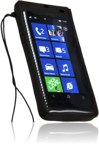 Outdoor Handy Tasche Nokia Lumia 800 Neopren Case Schutzhülle Handytasche Etui