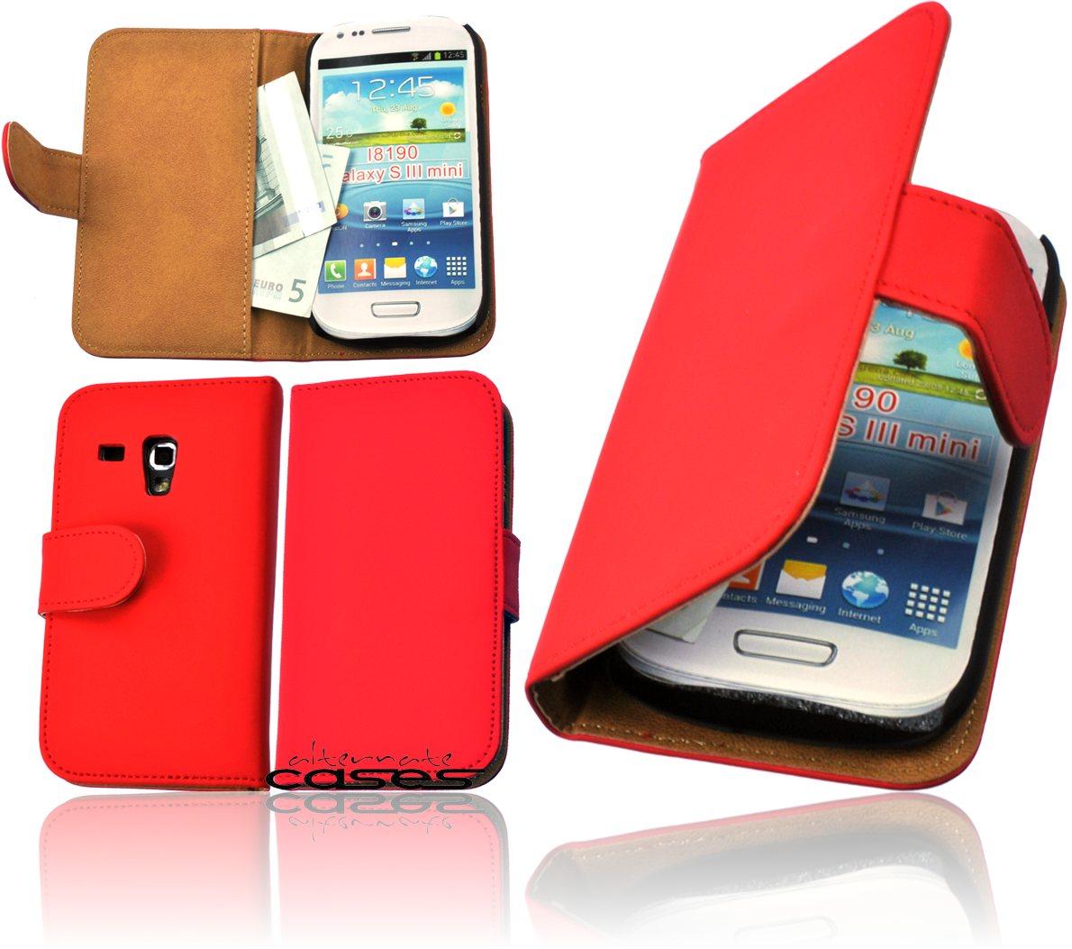 samsung galaxy s3 mini book style handytasche flip case. Black Bedroom Furniture Sets. Home Design Ideas