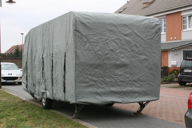 wohnwagen wohnmobil schutzh lle abdeckung 570x225x220 ebay. Black Bedroom Furniture Sets. Home Design Ideas