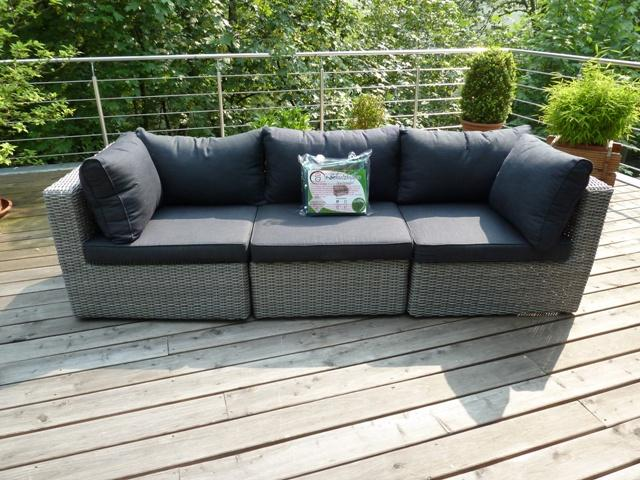 Wundervoll Schutzhülle Abdeckung für Rattan Lounge Sofa 225x95x65   eBay CC07