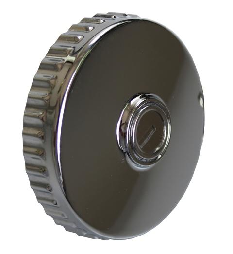 Chrome fuel cap for mercedes benz w111 190sl w121 230sl for Mercedes benz gas cap