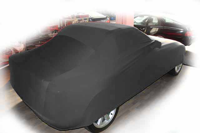 vollgarage schwarz mit spiegeltaschen f r bmw z1 ganzgarage car cover ebay. Black Bedroom Furniture Sets. Home Design Ideas