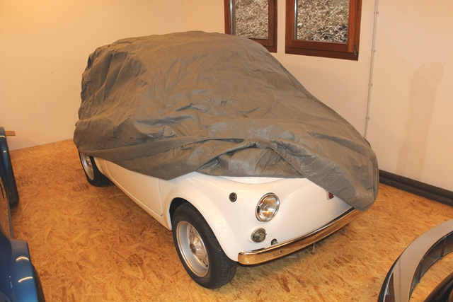 car cover f r alten fiat 500 oldtimer ganzgarage. Black Bedroom Furniture Sets. Home Design Ideas