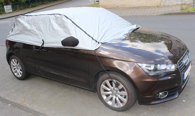 Halbgarage Mit Spiegeltaschen F R Audi A1 Halb Abdeckung