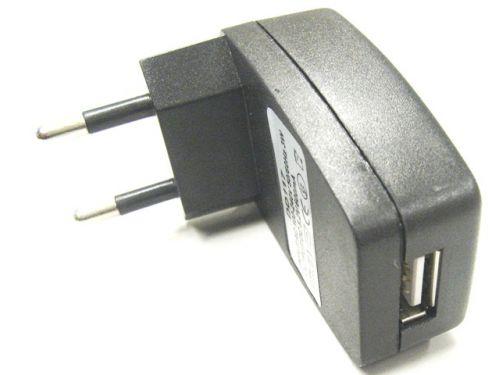 220 volt stecker mit usb eingang f r usb ladekabel ebay. Black Bedroom Furniture Sets. Home Design Ideas