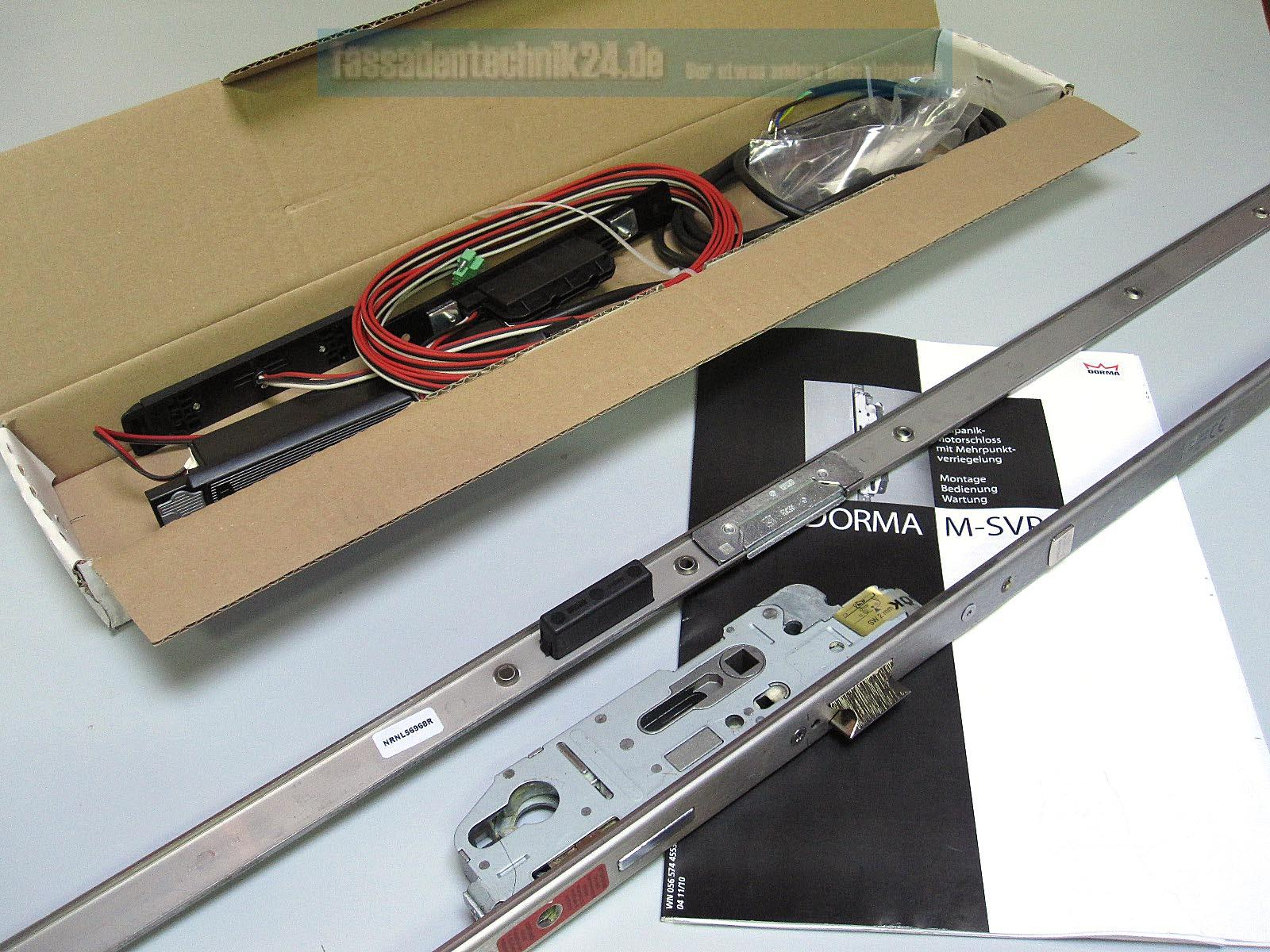dorma antipanik motorschlo mit mehrpunktverriegelung m svp 2000 uu din rs 35d ebay. Black Bedroom Furniture Sets. Home Design Ideas