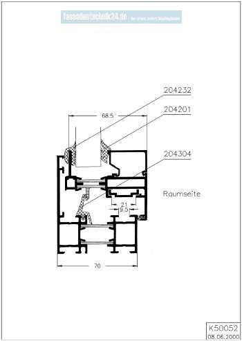 sch co system royal 78w mitteldichtung preis pro meter. Black Bedroom Furniture Sets. Home Design Ideas