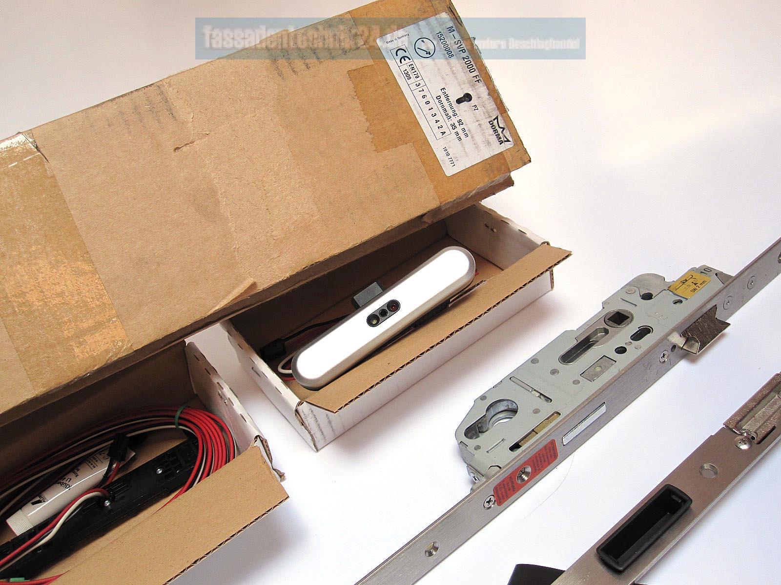 dorma antipanik motorschlo mit mehrpunktverriegelung m svp 2000 ff din ls 35d ebay. Black Bedroom Furniture Sets. Home Design Ideas