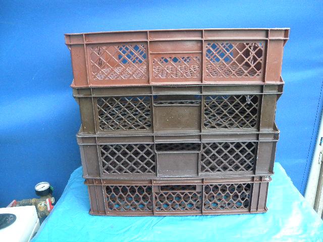 4 x stapelkisten transportkisten b ckerkisten kunststoff ca 40 x 60 x 15 cm ebay. Black Bedroom Furniture Sets. Home Design Ideas